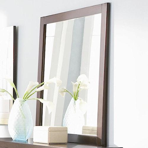 Coaster Lorretta Contemporary Framed Dresser Mirror