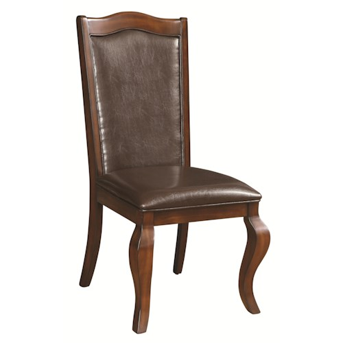 Coaster Louanna Transitional Upholstered Side Chair