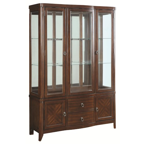 Coaster Louanna Transitional Dining Buffet and Hutch