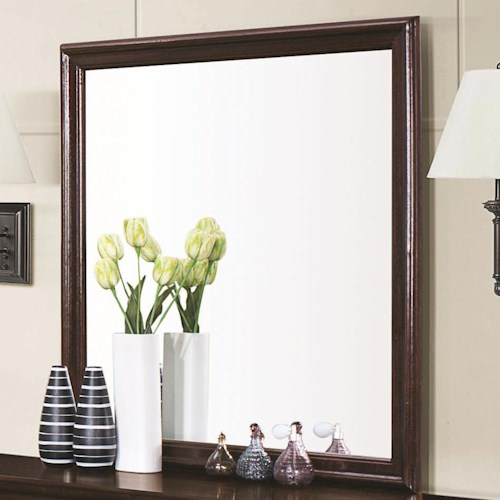 Coaster Louis Philippe 202 Framed Square Dresser Mirror