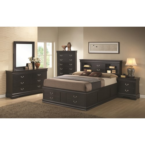 Coaster Louis Philippe King Bedroom Group