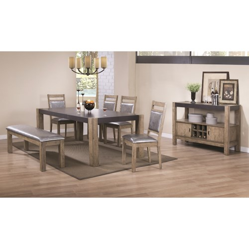 Coaster Ludolf Formal Dining Room Group