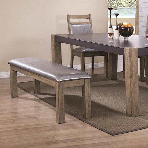 Coaster Ludolf Upholstered Dining Bench