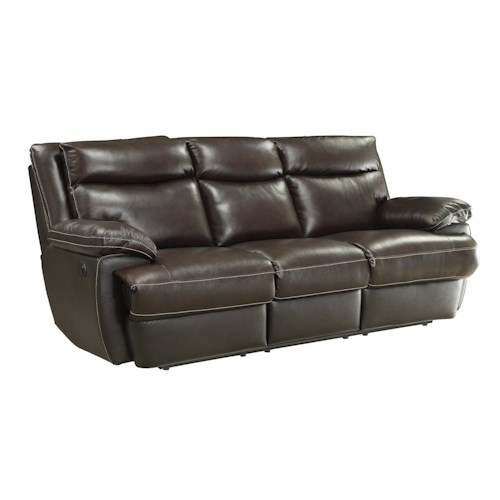 Coaster MacPherson Casual Reclining Sofa with USB Charging Ports