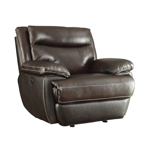 Coaster MacPherson Casual Power Recliner with Built-In USB Charging Port