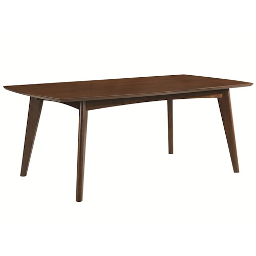 Coaster Malone Mid-century Modern Casual Dining Table