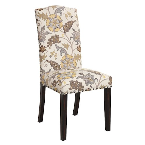 Coaster Matisse Upholstered Dining Side Chair with Nailhead Trim