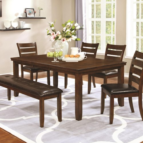 Coaster Maxwell Transitional Dining Table