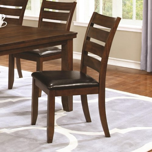 Coaster Maxwell Dining Chair with Upholstered Seat