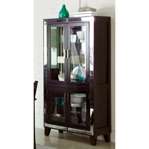 Coaster Middleton Curio Cabinet with Four Doors