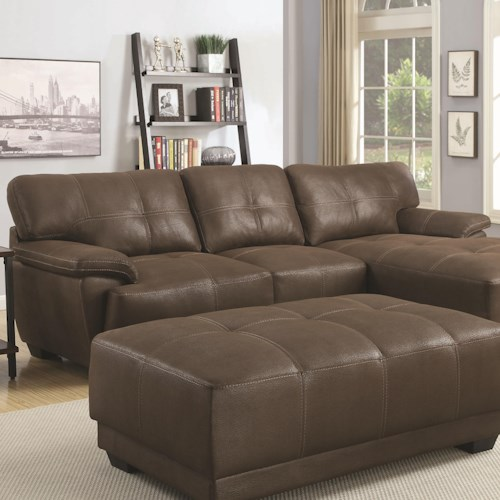 Coaster Murik Casual Sectional Sofa