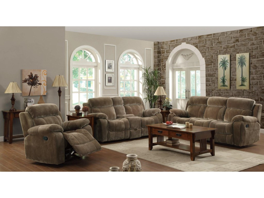 Shown with Double Gliding Loveseat and Motion Sofa