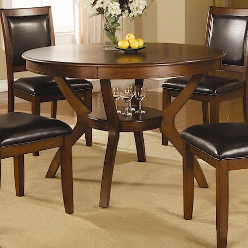 Coaster Nelms Table with Shelf