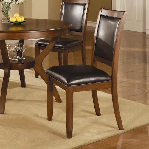 Coaster Nelms Side Chair with Upholstered Seat and Back