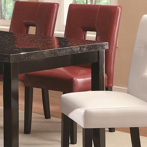 Coaster Newbridge Dining Side Chair w/ Plush Seating