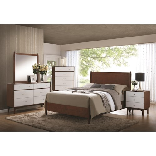 Coaster Oakwood California King Bedroom Group