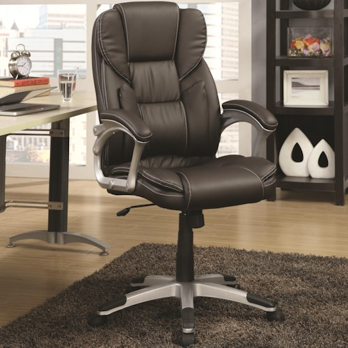 Coaster Office Chairs Office Task Chair with Lumbar Support
