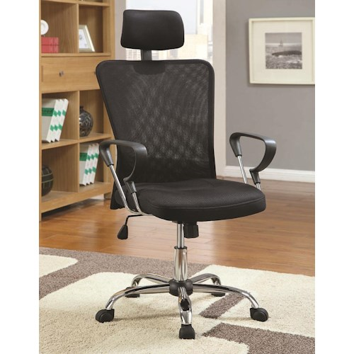 Coaster Office Chairs Contemporary Air Mesh Executive Chair