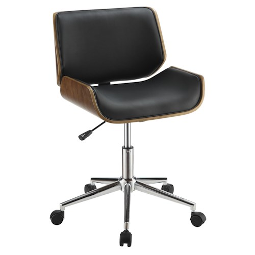Coaster Office Chairs Contemporary Leatherette Office Chair