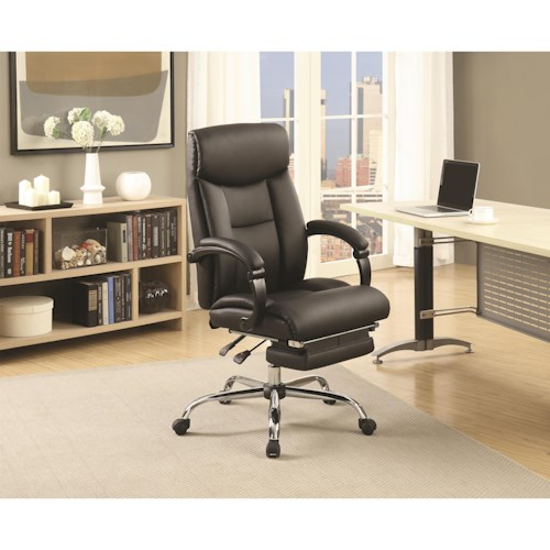 Coaster Office Chairs Black Adjustable Office Chair