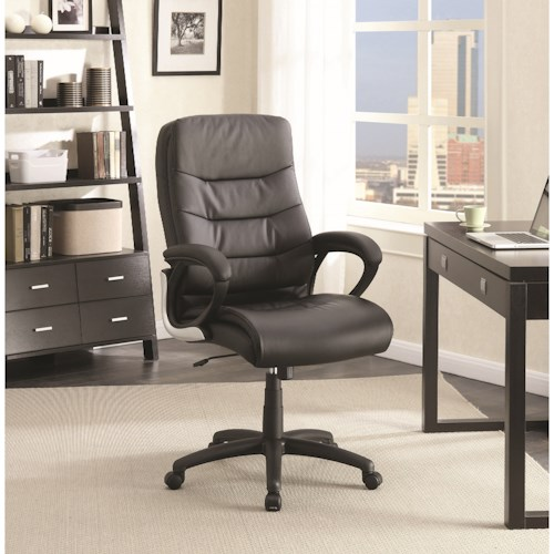 Coaster Office Chairs Plush Upholstered Office Chair