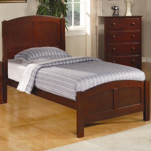 Coaster Parker Casual Twin Panel Bed