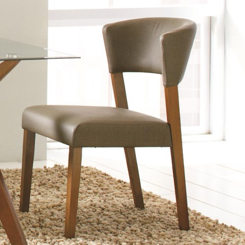 Coaster Paxton 12218 Grey Upholstered Dining Chair
