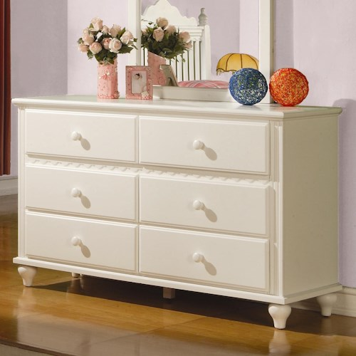 Coaster Pepper  Dresser w/ 6 Drawers