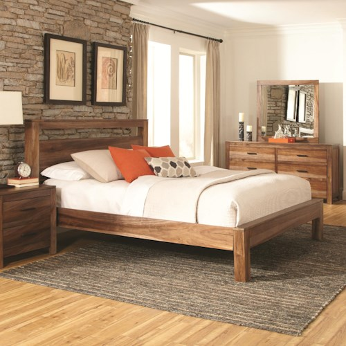 Coaster Peyton California King Platform Bed