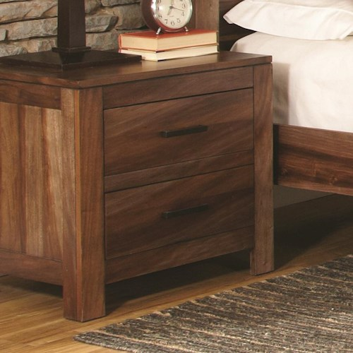 Coaster Peyton 2 Drawer Night Stand