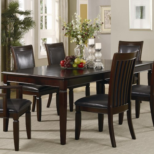 Coaster Ramona Formal Rectangular Dinner Table