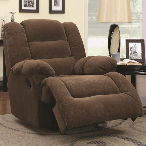Coaster Recliners Glider Recliner with Casual Style