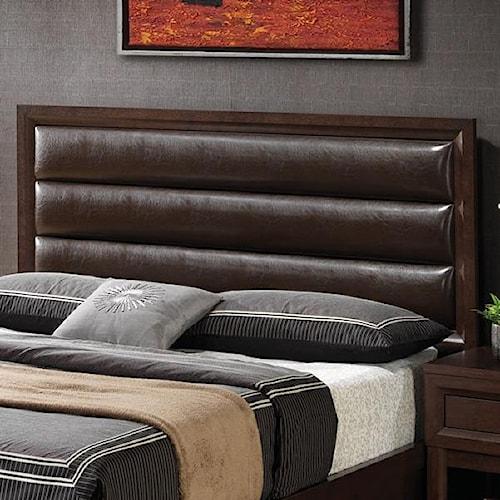 Coaster Remington King Headboard w/ Pillow Backrest