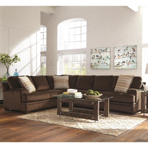 Coaster Robion Plush Corner Sectional
