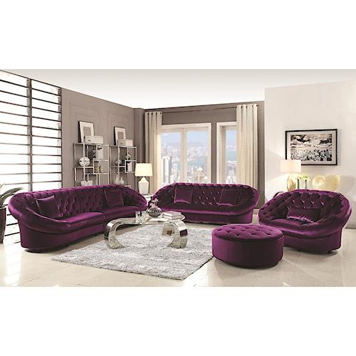 Coaster Romanus Living Room Group