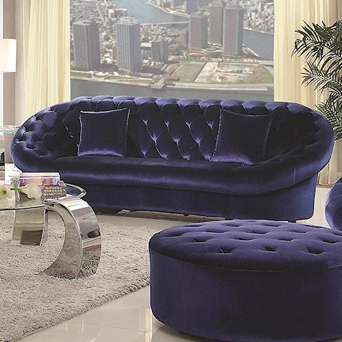 Coaster Romanus Mid-Century Modern Sofa