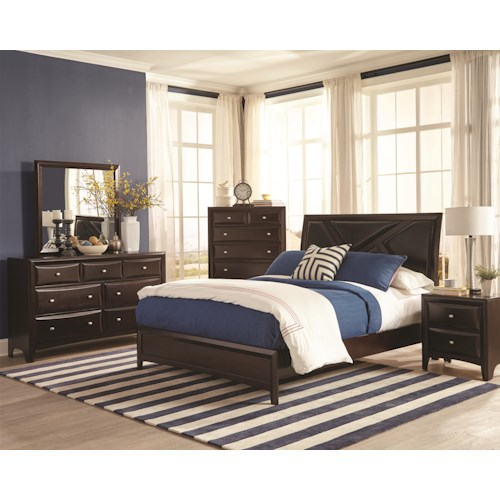 Coaster Rossville King Bedroom Group