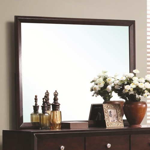 Coaster Serenity  Rectangular Dresser Mirror