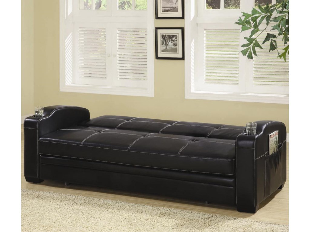 Shown with Back Cushion Down