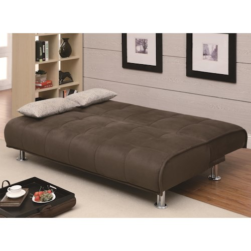 Coaster Sofa Beds and Futons -  Transitional Styled Futon