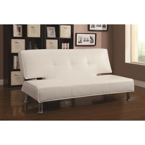 Coaster Sofa Beds and Futons -  Adjustable Armless Sofa Bed