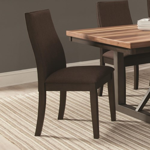 Coaster Spring Creek Upholstered Dining Side Chair