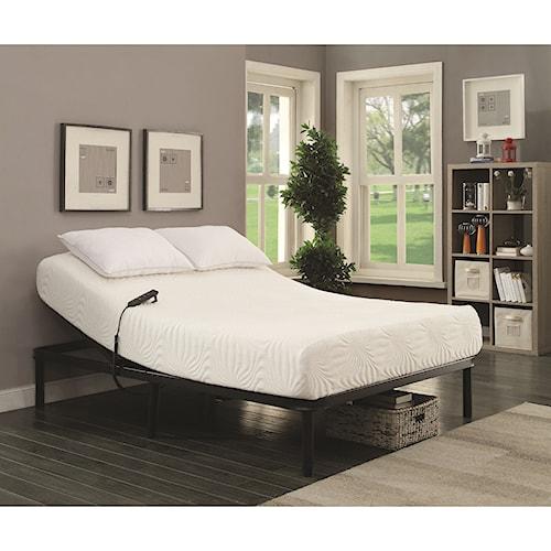 Coaster StanHope Adjustable Bed Base Full Electric Adjustable Bed Base