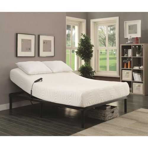 Coaster StanHope Adjustable Bed Base Twin Extra Long Electric Adjustable Bed Base