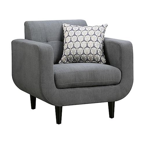 Coaster Stansall Mid Century Modern Chair