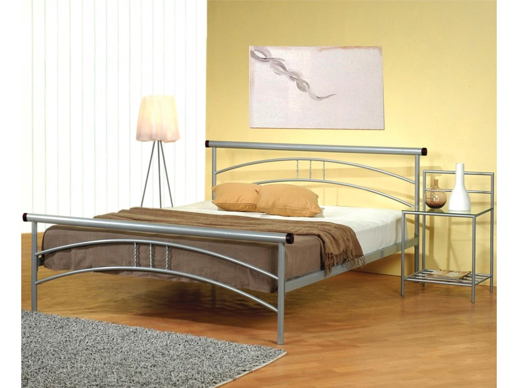 Shown with Iron Bed