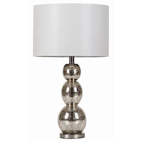 Coaster Table Lamps Metallic Finish Table Lamp