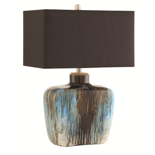 Coaster Table Lamps Colorful Table Lamp