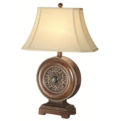 Coaster Table Lamps Ornamental Base Table Lamp