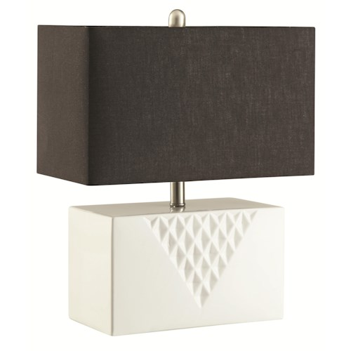 Coaster Table Lamps Rectangular Table Lamp